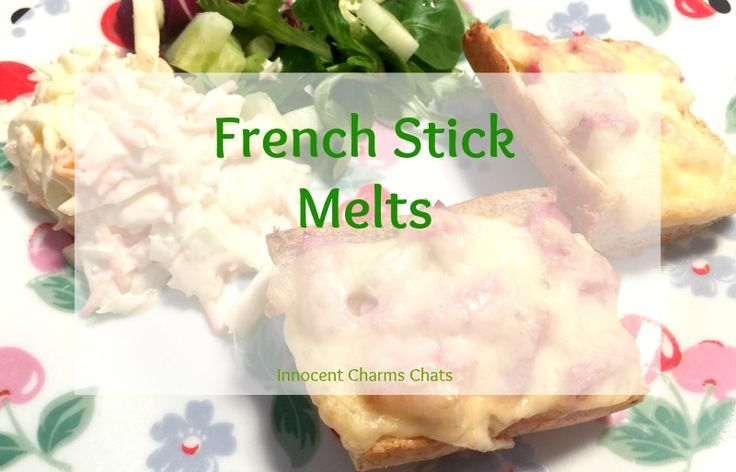 A great recipe using French Stick even when you think you can't French Stick Melts from Innocent Charms Chats