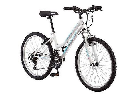 24-Inch, Roadmaster Mountain Bike Steel 18-Speed, Granite Peak Bicycle New - 1/1