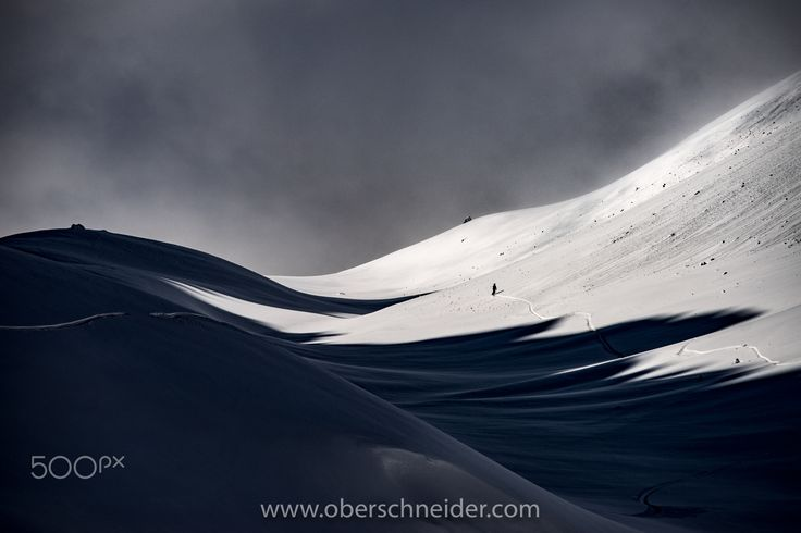 "Follow Your Line - A lone snowboarder exploring the vast backcountry of the Dachstein glacier in the Austrian Alps.  Image available for licensing.  Order prints of my images online, shipping worldwide via  <a href=""http://www.pixopolitan.net/photographers/oberschneider-christoph-a6030.html"">Pixopolitan</a> See more of my work here:  <a href=""http://www.oberschneider.com"">www.oberschneider.com</a>  Facebook: <a href=""http://www.facebook.com/Christoph.Oberschneider.Photography"">Christoph…"