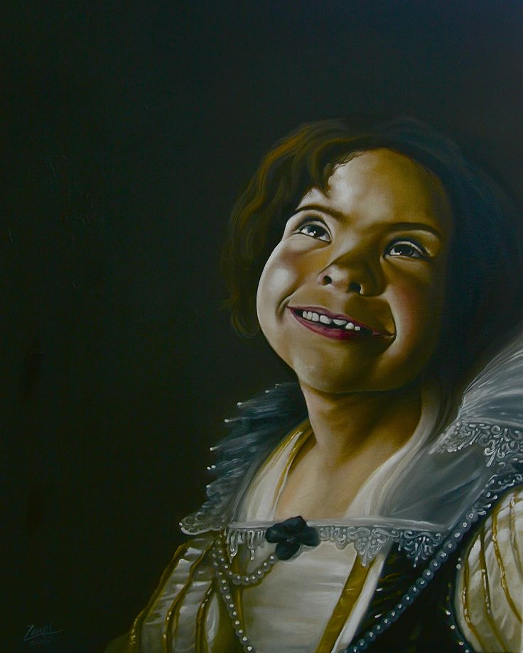 """""""Royalty"""" - Oil on canvas - 50 x 70cm  .All rights reserved, please do not use this images!."""