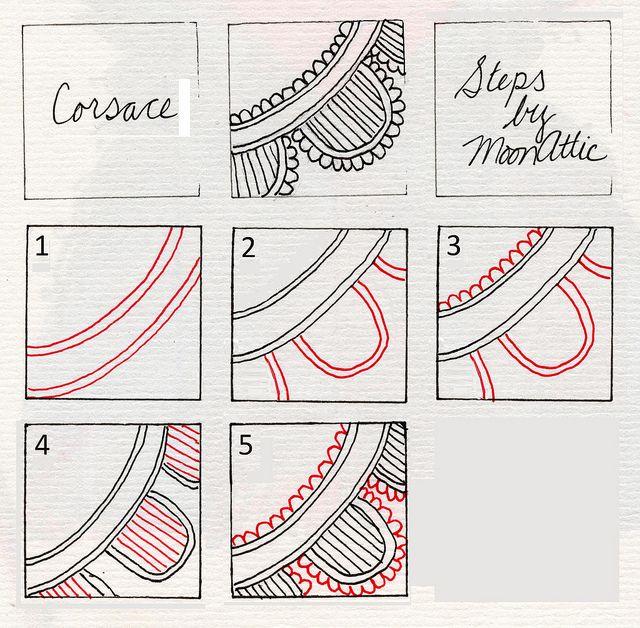 Zentangle Pattern Gallery | Zentangle/Zendoodle Patterns 2 - a gallery on Flickr