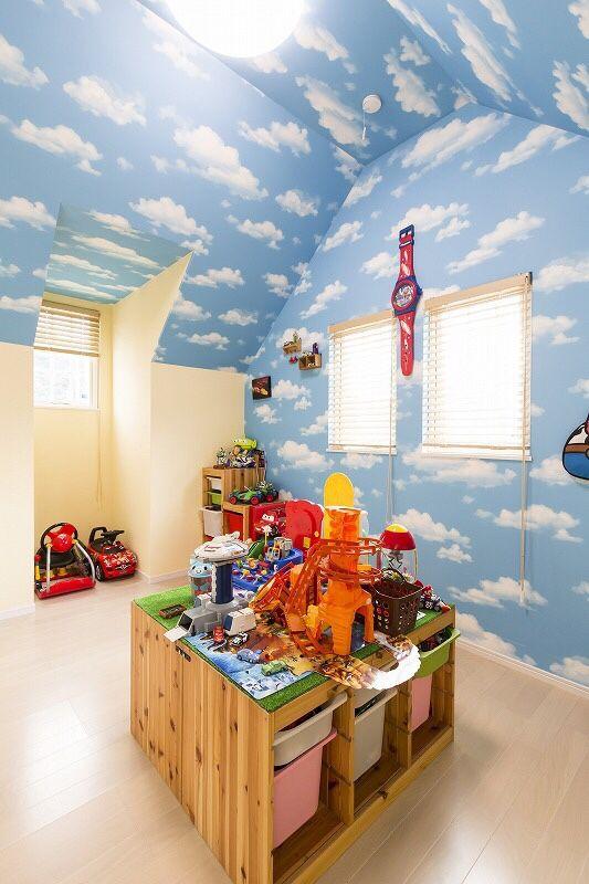 遊び心満載の子供部屋 子供部屋 トイストーリー 部屋 子供部屋の