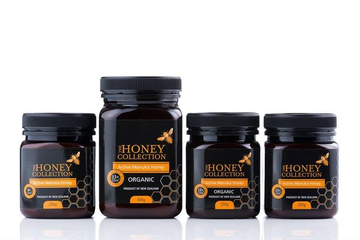 The Honey Collections UMF Active Manuka Honey includes 8+, 13+ Organic and 15+.  A fantastic health honey