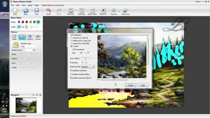 Nufsoft Nature Illusion Studio 1. rész
