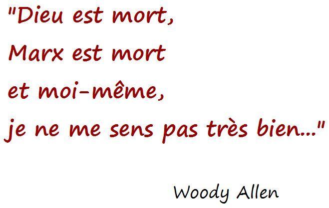 Citation de Woody Allen