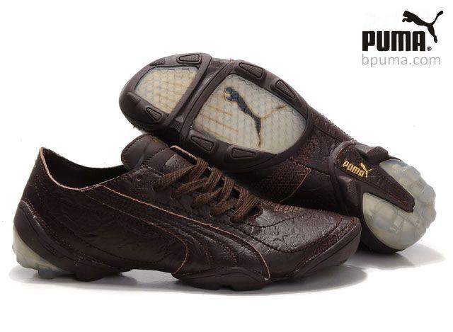 Puma Football Trainers Brown