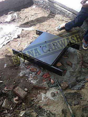 proses instalasi hidrolik cuci mobil thunder H-03