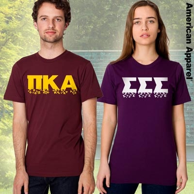 21 best fraternity apparel images on pinterest for American apparel sorority shirts