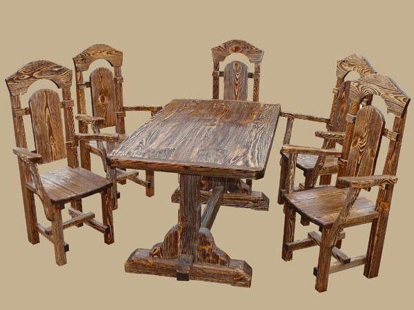 Стол под старину Вековой