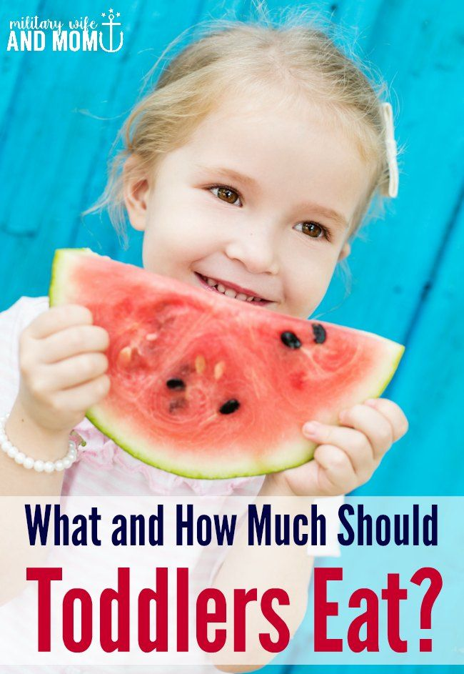 What And How Much Should Your Toddler Really Eat?