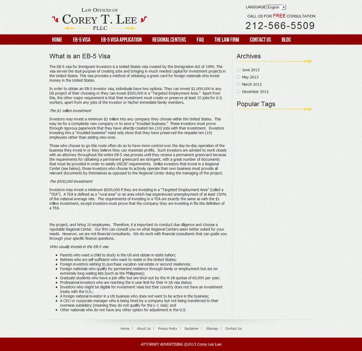 eb5 investor visa, eb5 visa, eb-5, eb5 --> www.us-eb5lawyer.com/eb-5-visa/what-is-an-eb-5-visa