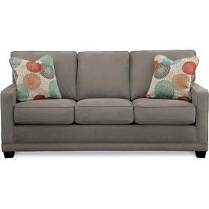 La Z Boy Kennedy Transitional Sofa With Wood Legs And Welt Cord   Johnny  Janosik   Sofa Delaware, Maryland, Virginia, Delmarva