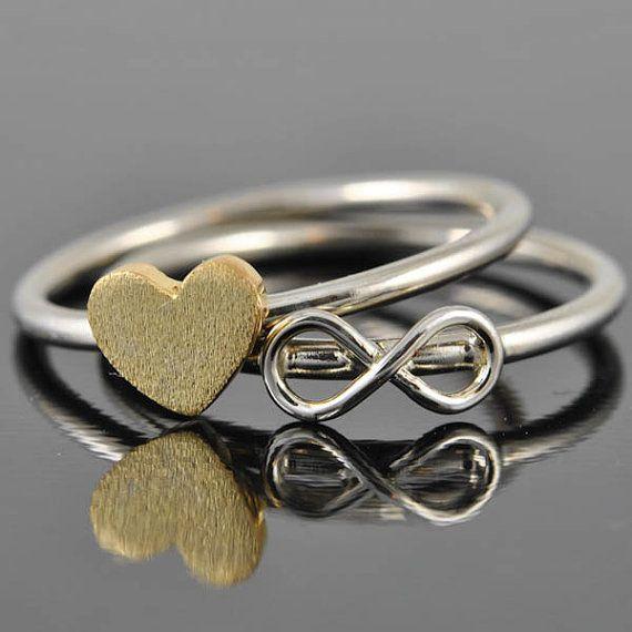 bague infini, bague noeud infini, meilleur anneau d'un ami, anneau de promesse, la sonnerie personnalisée, anneau d'amitié, sœurs anneau