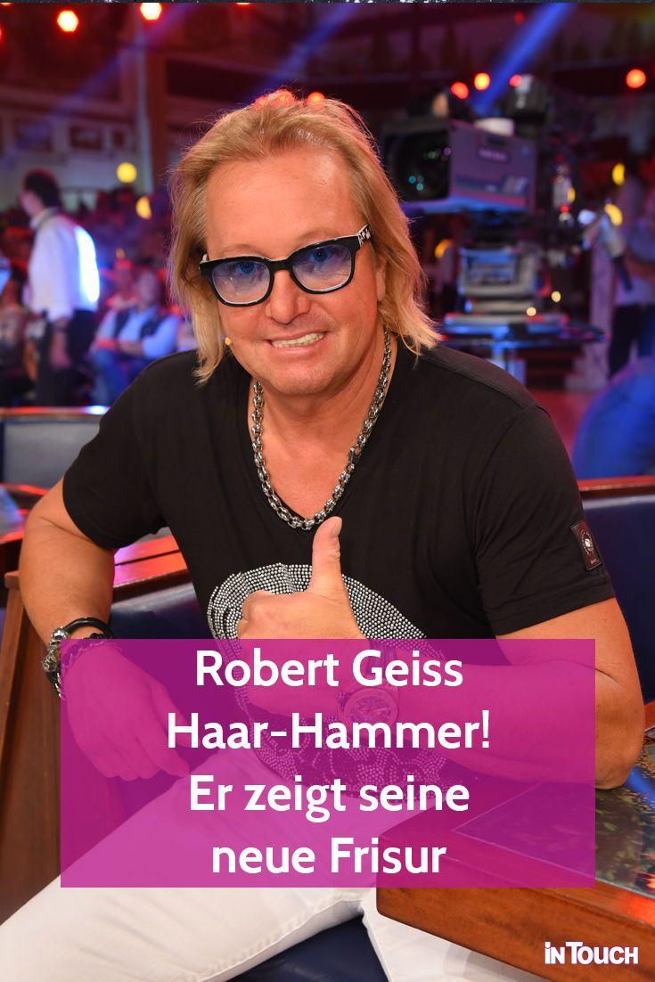 Robert Geiss Haar Hammer Er Hat Eine Neue Frisur Robert Geiss Neue Frisuren Star Wars