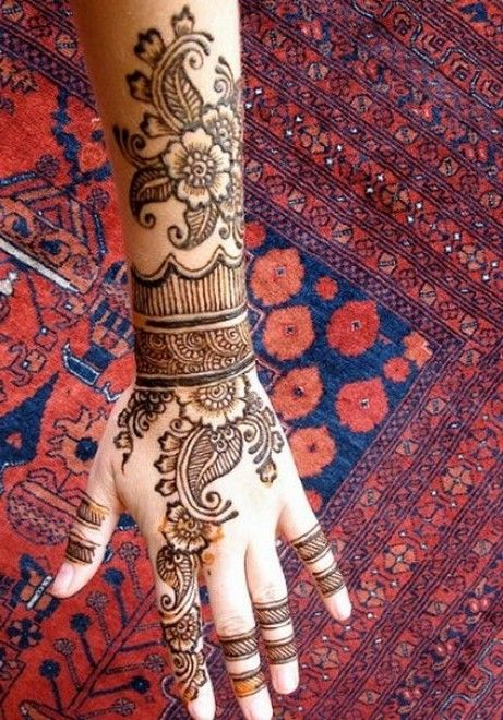 Arabic Bridal Mehndi Designs 2013