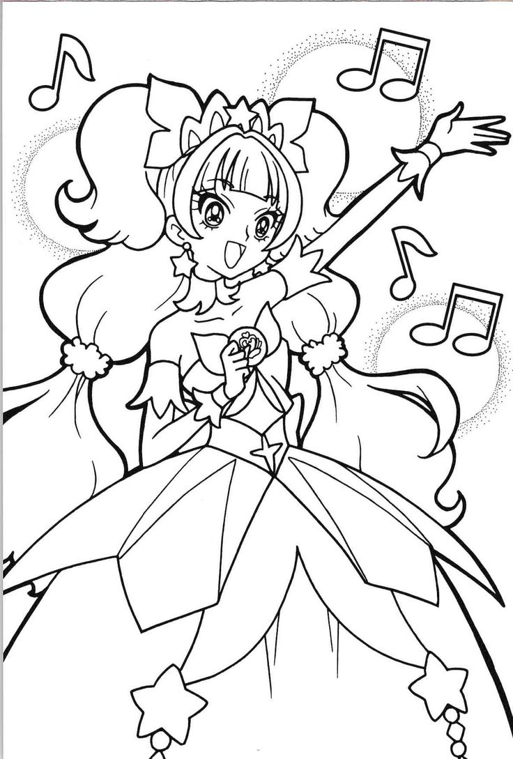 37 best precure images on pinterest pretty cure coloring sheets