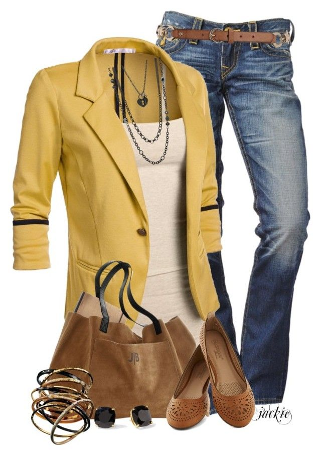 """""""Blazer Love"""" by jackie22 ❤ liked on Polyvore featuring Dorothy Perkins, Ashley Pittman, Lane Bryant, Kate Spade, boho, blazer, flats, CasualChic and suedebag"""