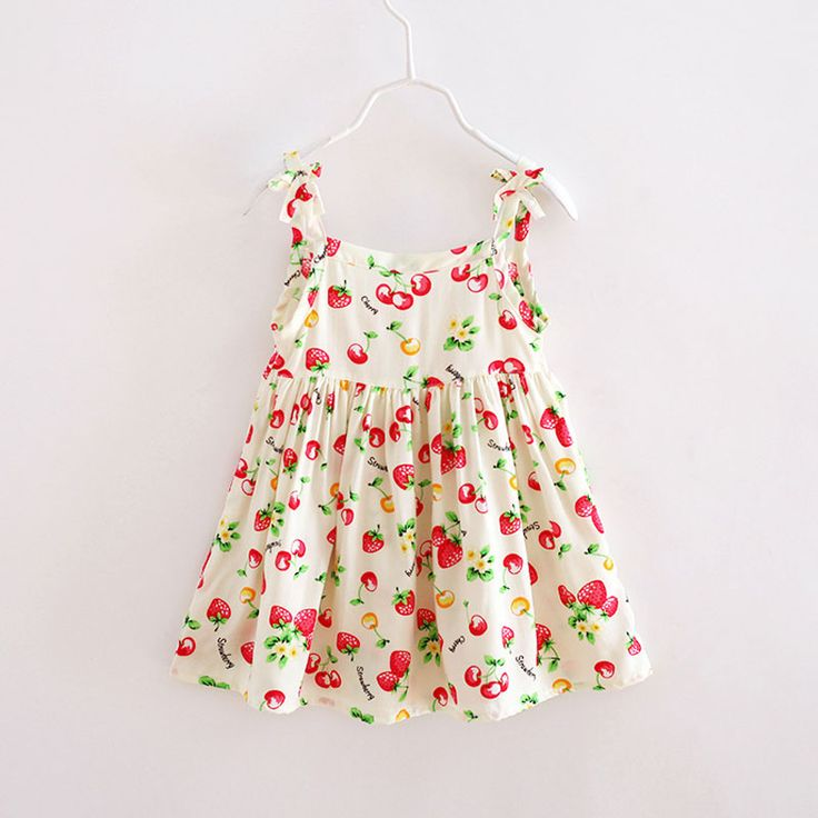 Find More Dresses Information about Wholesale Baby Boutique Girls Clothing Summer 2016 Brand Cute Toddler Girl Clothes Strawberry Dress Casual Kids Vintage Dresses,High Quality dress boot,China clothing sale Suppliers, Cheap dress tennis from Missing You on Aliexpress.com
