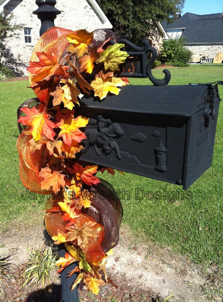 Fall Mail Box Swag