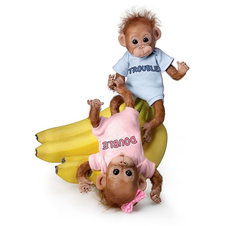 Ashton Drake Baby Com Ashton Drake Monkey Baby Doll Set