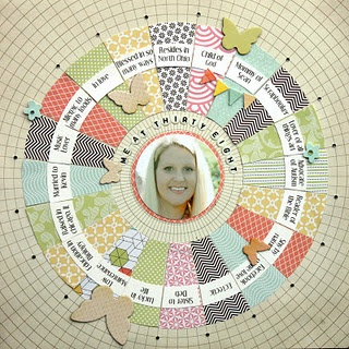 love the circular grid paper. I think I can make this with a mist screen.