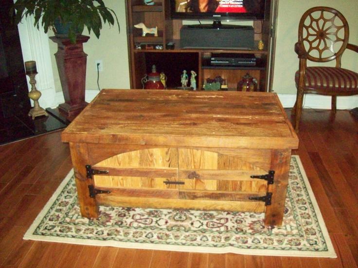 Coffee Table Barn Wood