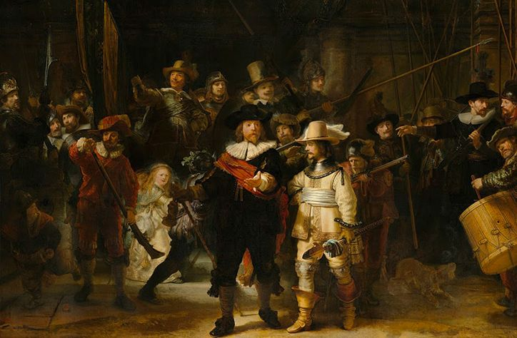 Dutch government makes Rembrandt painting compulsory viewing for kids