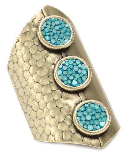 "Nissa Jewelry ""Leather"" Claudette Stingray Ring Nissa Jewelry. $64.00"