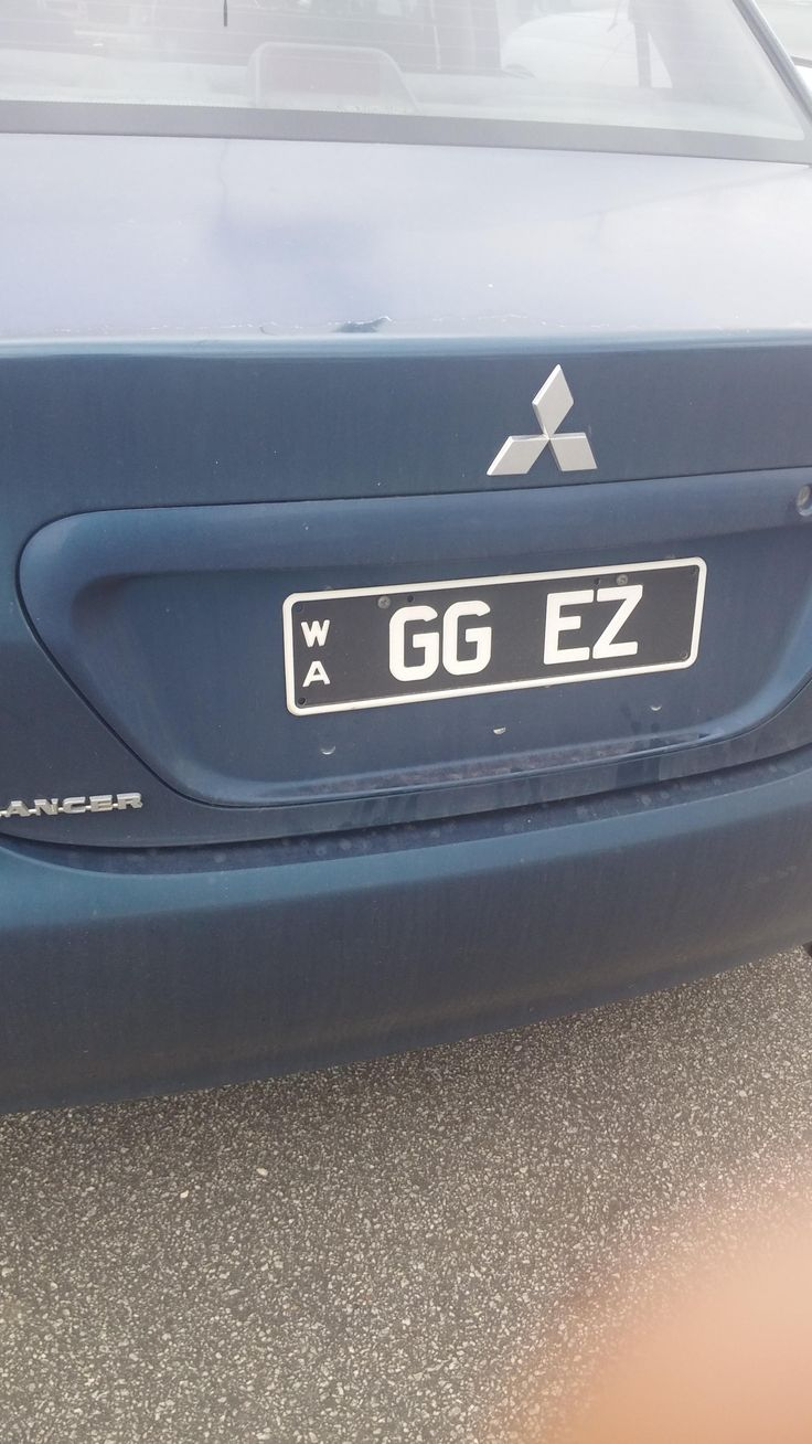 Noticed this reg plate the other day. Classic.
