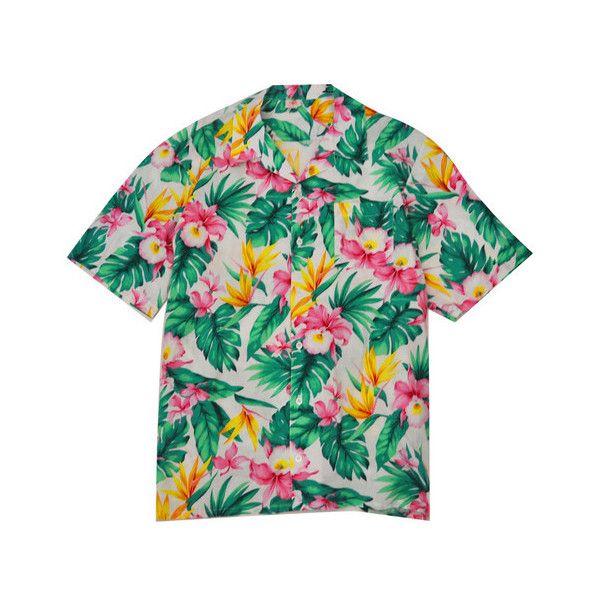 Hawiian Shirt XL — KYC Vintage ($12.00) ❤ liked on Polyvore