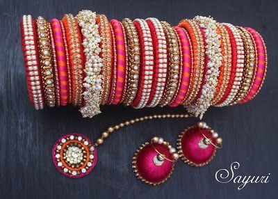 silk thread wedding jewellery