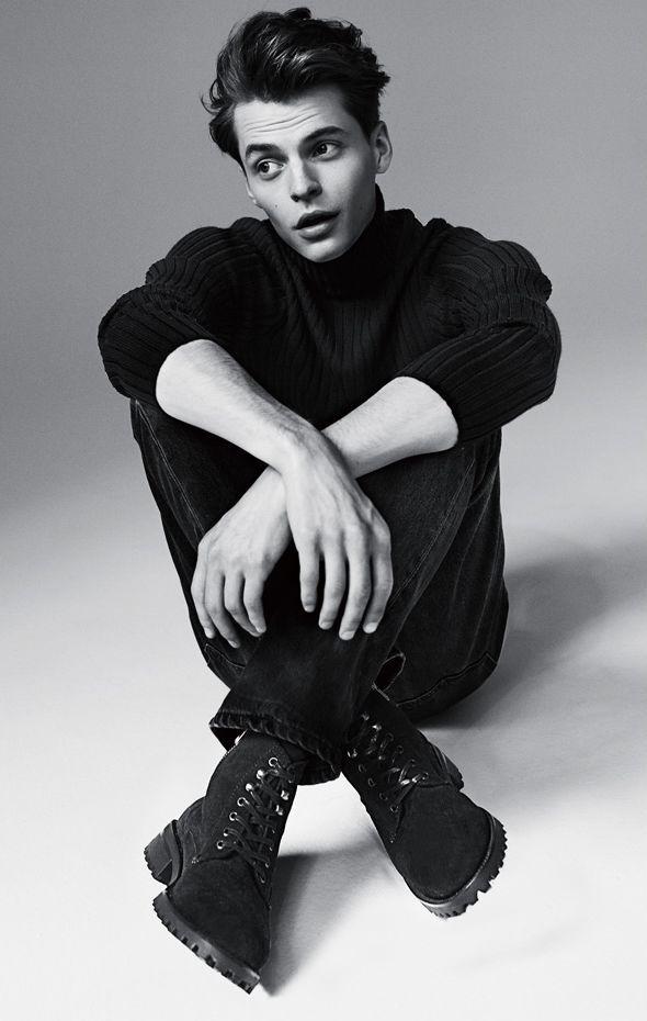 "homme—models: "" John Hein - Caminando Fall/Winter 2014 """