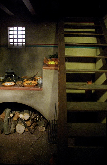 A Roman Culina Kitchen Located Under The Stairs Of The House Roman Daily Life Pinterest