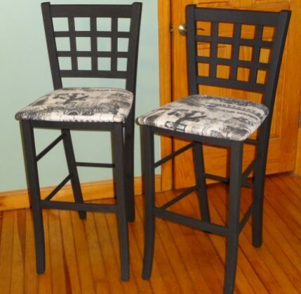 2 Counter Height Chairs Or Bar Stools For Sale The Two