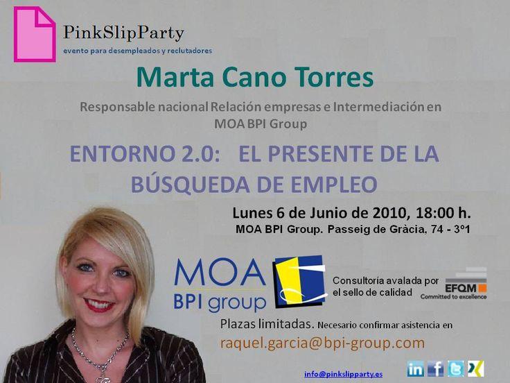 Marta Cano moa bpi group presente búsqueda de empleo barcelona