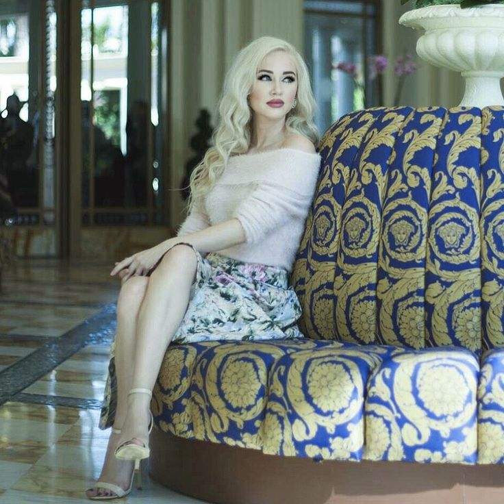 At the palazzo Versace wearing Review