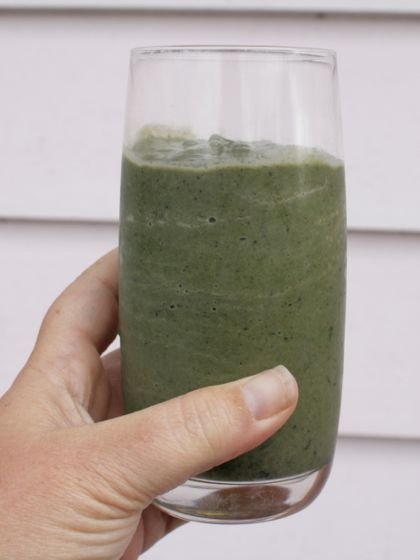 Wahls Breakfast Smoothie with Blueberry, Spinach and Avocado