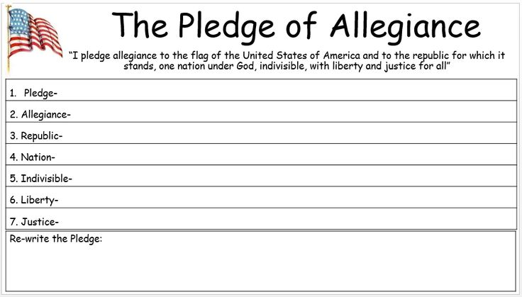 understanding the pledge of allegiance for the classroom pinterest social studies and. Black Bedroom Furniture Sets. Home Design Ideas