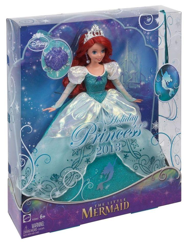 Nib disney princess 2013 holiday princess ariel little - Nachtlicht disney princess ...