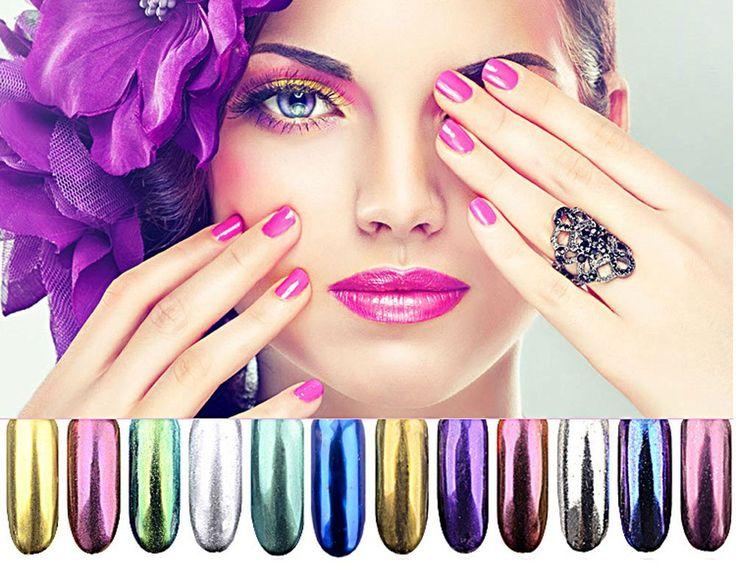 25+ best ideas about Mirror nails on Pinterest | Metallic ...