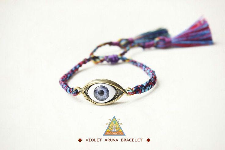 Violet aruna bracelet