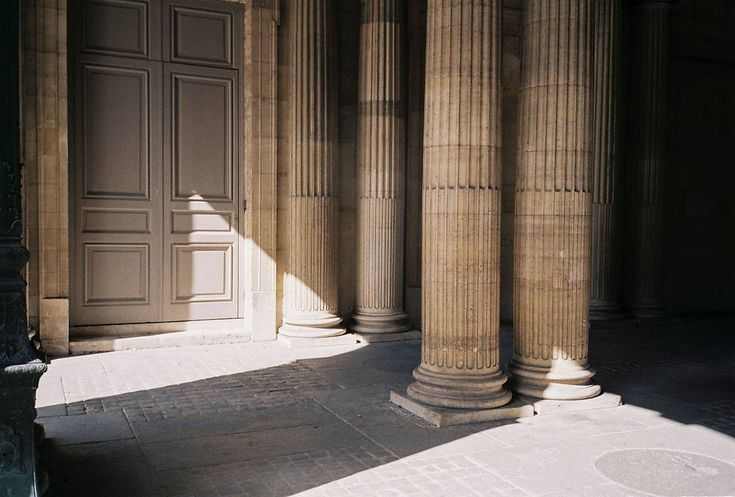 Lights, shadows, lines, shapes, architecture always inspire us. Paris, March 2017