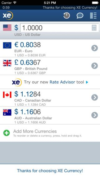 XE Currency by XE.com Inc.