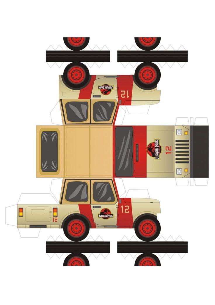 jeep wrangler of Jurassic Park by ~pauloomarcio on deviantART @jlsturek