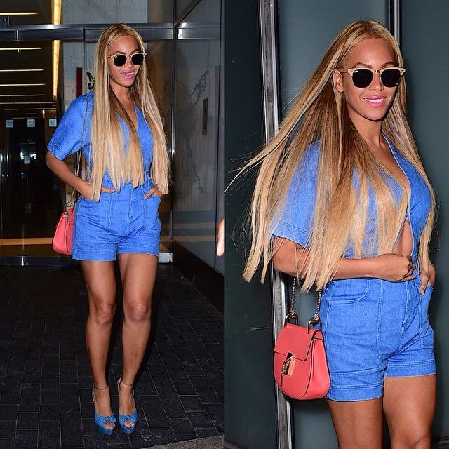 Beyoncé spotted in NYC — May 7