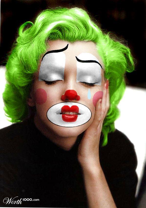 Clowny Marilyn - Worth1000 Contests