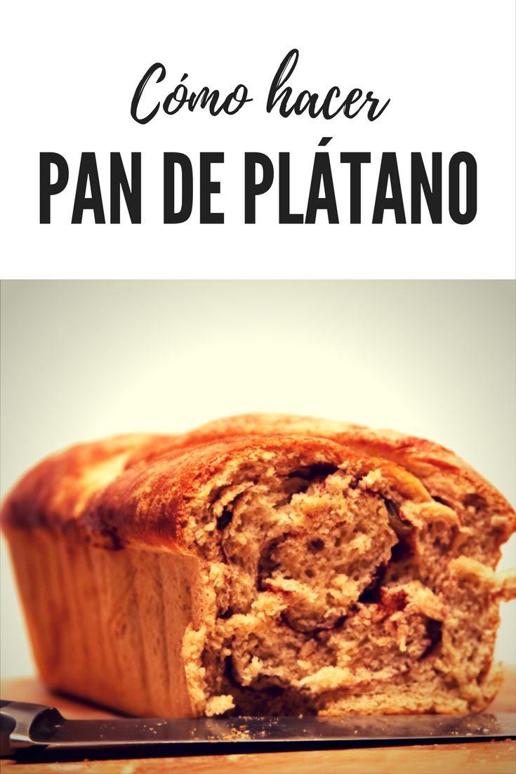 Cómo hacer pan de plátano. Una receta muy fácil y deliciosa. Seguro que tienes los ingredientes en casa. Banana Bread. - A Feminine LifeStyle -