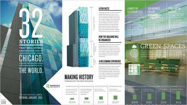 Roosevelt University asked TDH to help launch a campaign for their new campus, set to be constructed by 2012
