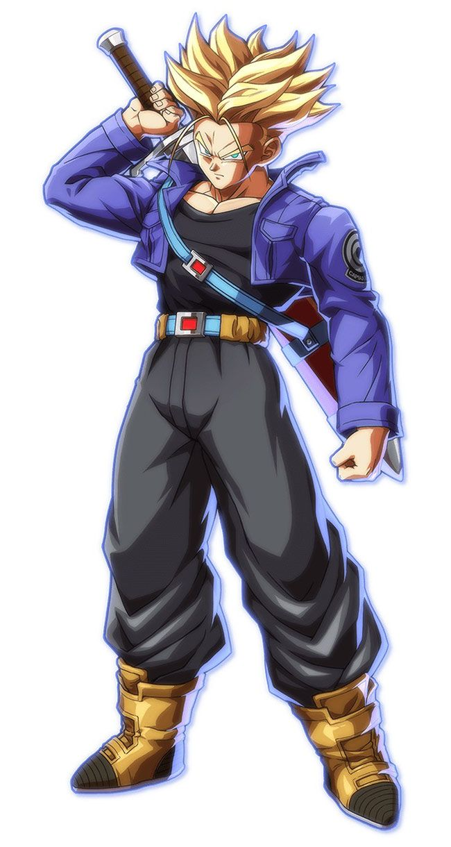 trunks from dragon ball fighterz character design pinterest