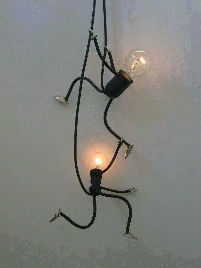 Creative lamps.